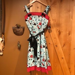 Hell bunny pin up dress